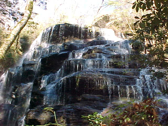 Yellow Branch Falls, Mountain Rest SC